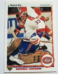 Patrick-Roy-Upper-Deck-1990-NHL-Sports-Trading-Card-153-Montreal-Canadiens