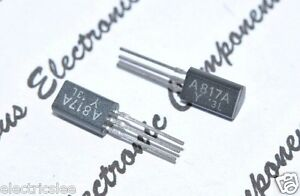PNP 25V 100mA 400mW JAPAN 2pcs 2SA817A Transistor