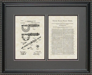 Patent Art - Micrometer - Engineer Machinist Artwork Wall Hanging Gift S1536