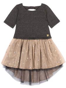 Deux Par Deux NWT Girls 2Pc Floral Skirt Set      RETAIL $68.00