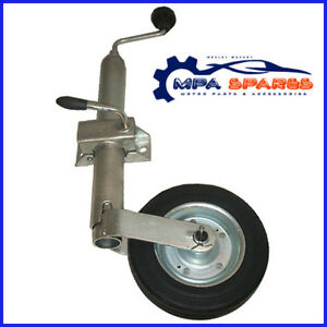 42mm-TRAILER-JOCKEY-WHEEL-COMPLETE-WITH-CLAMP-150kg-CAR-BOAT-DOG-BIKE-QUAD