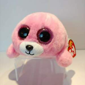 Pierre-the-Pink-Seal-Ty-Beanie-Boo-Plush-Style-37198-Regular-6-15cm-NEW