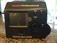 Kodak DCS ProBack 645M and Charger with Box