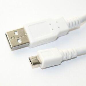 0,5m USB 2.0 HiSpeed Lade-Kabel weiß Stecker A Micro B 50cm kurz Daten-Kabel