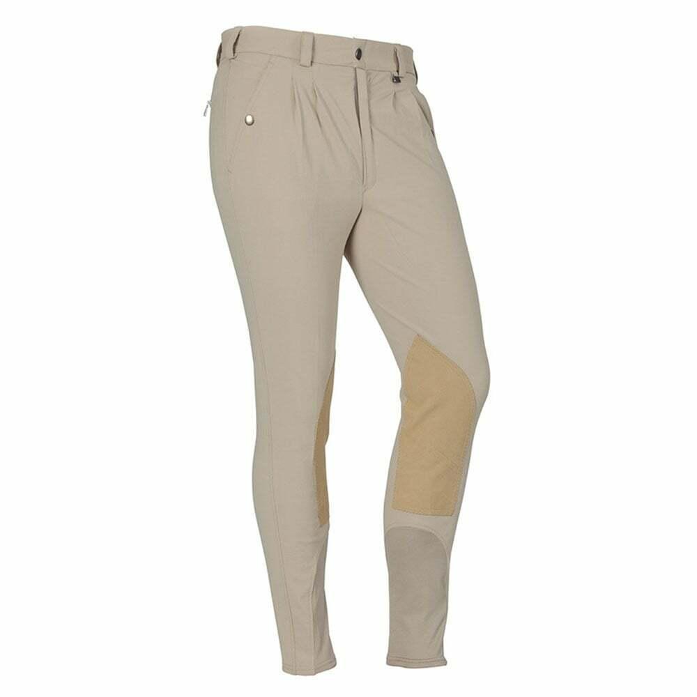 Shires Pantaloni da uomo Stratford PerforuomoceDriLex parte inferiore della gambapassanti per cintura
