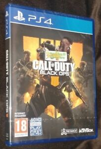 Call of Duty Black Ops 4 IV IIII Playstation 4 PS4 NEW SEALED Free UK p&p