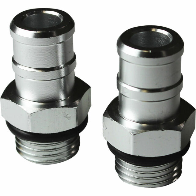 SAAS Catch Can Hose Fittings, 16mm Pair - HF1005