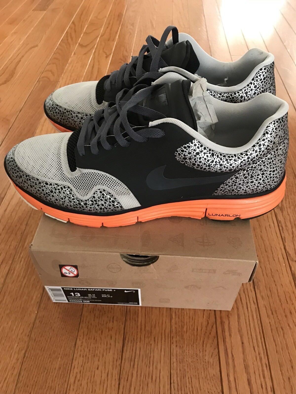 Nike Mens Lunar Free Safari Fuse Mens Size 13 525059 008