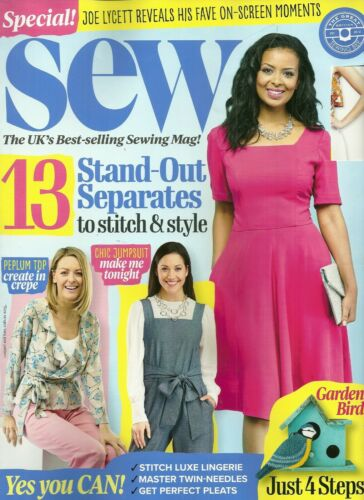 Sew ~Magazine 2 free patterns issue 123