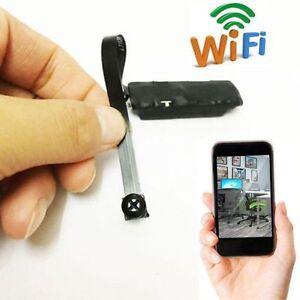 Details about WIFI Spy Nanny Cam IP P2P Digital Video Camera Pinhole DIY  Module Mini Recorder