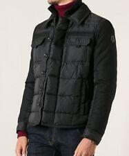 NEW Moncler Blais Men's Down Jacket 5 US XL Slim Fit Black Mixed Media