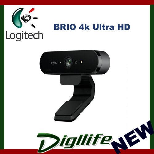 Logitech BRIO 4k Ultra HD USB-C Webcam with Rightlight 3 HDR