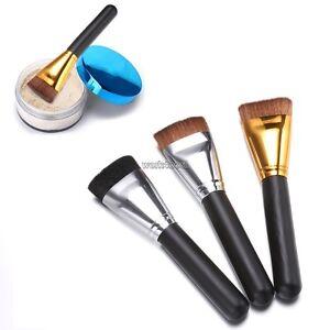 Professional-Flat-Contour-Brush-Face-Cheek-Blend-Makeup-Cosmetic-Brusher-Tool-WS