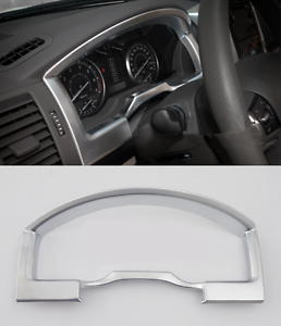 1x Chrome Internal front dashboard cover For Toyota Land Cruiser LC200 2008-2016