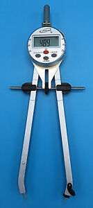 "iGaging 8/"" Digital Compass /& Divider Compass Metal Wood Digi 3-Way Speedbow Poly"