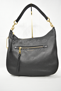 caf805f12002 MARC By Marc Jacobs M00008895 Recruit Leather Hobo   Shoulder Bag in ...