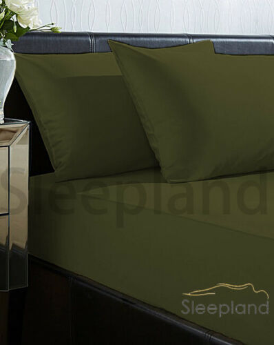 2 X PILLOW CASE 100/% JERSEY COTTON COMBED HOUSEWIFE PAIR 180GSM HEAVY