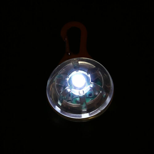 E77A Flashing LED Dog Cat Pet Pendants Necklace Pet Collar Pet Supply Dog Access