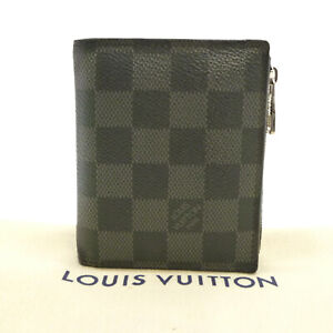 Auth-LOUIS-VUITTON-Portefeuille-Smart-Bifold-Damier-Graphite-N64021-S302036