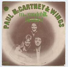 WINGS McCartney ex Beatles Mrs. Vanderbilt / Bluebird FRANCE Picture Sleeve ONLY