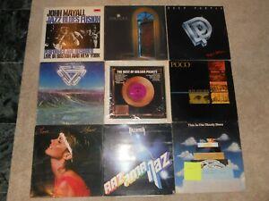 Deep-Purple-Mayall-Poco-Wilson-Pickett-9-LP-Lot-VG-Analog-Ultrasonic-Cleaned