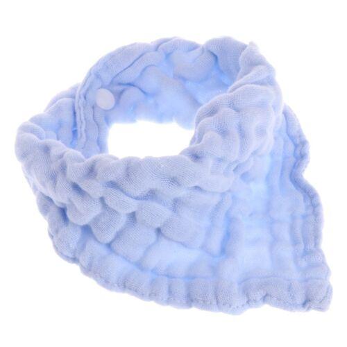 Baby Boy Girls Kids Bibs Gauze Saliva Towel Bibs Feeding Bandana