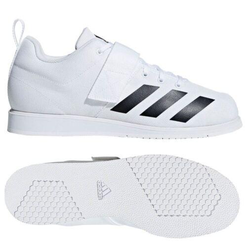 Adidas Chaussures Entraîneurs Hommes d'haltérophilie Powerlift Femmes Powerlifting Blanc 4 44wPfAxzq