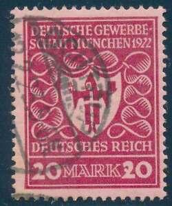 D-Reich-Nr-204-I-gestempelt-PLATTENFEHLER-40822