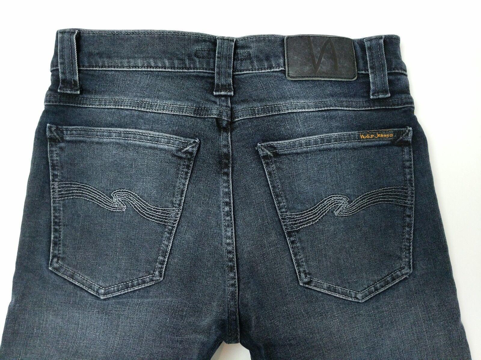 Nudie Jeans High Kai Organic Cotton Mens Stretch Jeans Slim Skinny Fit W28 L30