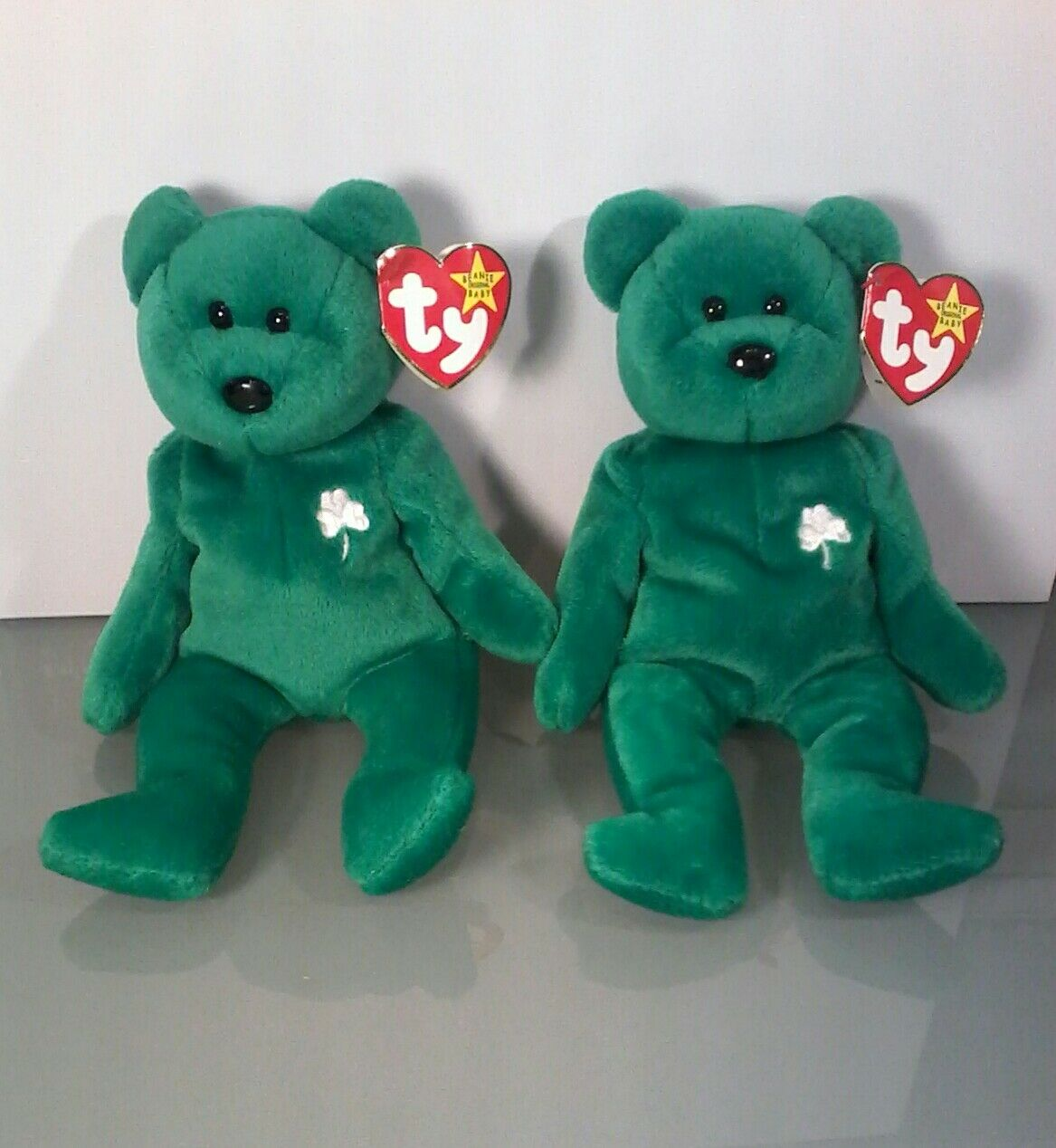 Two Extremely Rare Beanie Babies Erin With Errors and Rarities