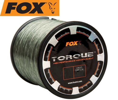 monofile Hauptschnu Fox Torque Line 0,38mm 9,55kg 850m Karpfenschnur 0,02€//1m