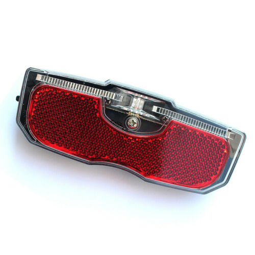 1pc Bike Cycling Bicycle Rear Reflector Tail Light For Luggage Rack NO Battery J