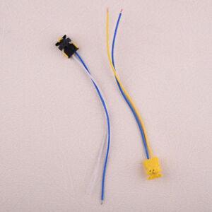 2X-Airbag-Kabel-Stecker-Verbinder-Connector-Wire-fuer-Dodge-Chevrolet-Mercedes