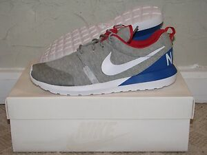 191477339fa Nike Roshe Run NM W SP Great Britain UK Grey Hther Mens Size 10 DS ...