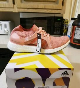 05f64d756 New Women s Adidas 9.5 Ultra Boost X Shoes Running Training Pink ...