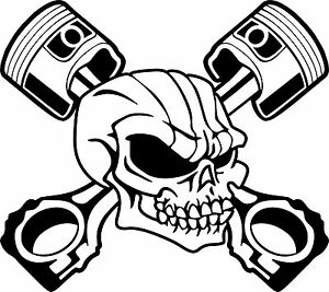 Piston 1 Skull Hot Rod Flame Engine Car moreover Skull In Helmet With Goggles And Crossed 33494219 also Royalty Free Stock Photography Dna Model Vector Image8745637 moreover Cranio Asas 1 8523693 besides Free Skull Tattoo Designs. on piston tattoo