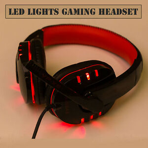 Stereo-Gaming-Headset-Headphone-USB-3-5mm-LED-with-Mic-for-PC-Computer-Portable