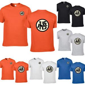 c459e337 DBZ Goku Logo T-Shirt Wisdom Kanji Japanese Dragon Ball Z Tee Shirt ...