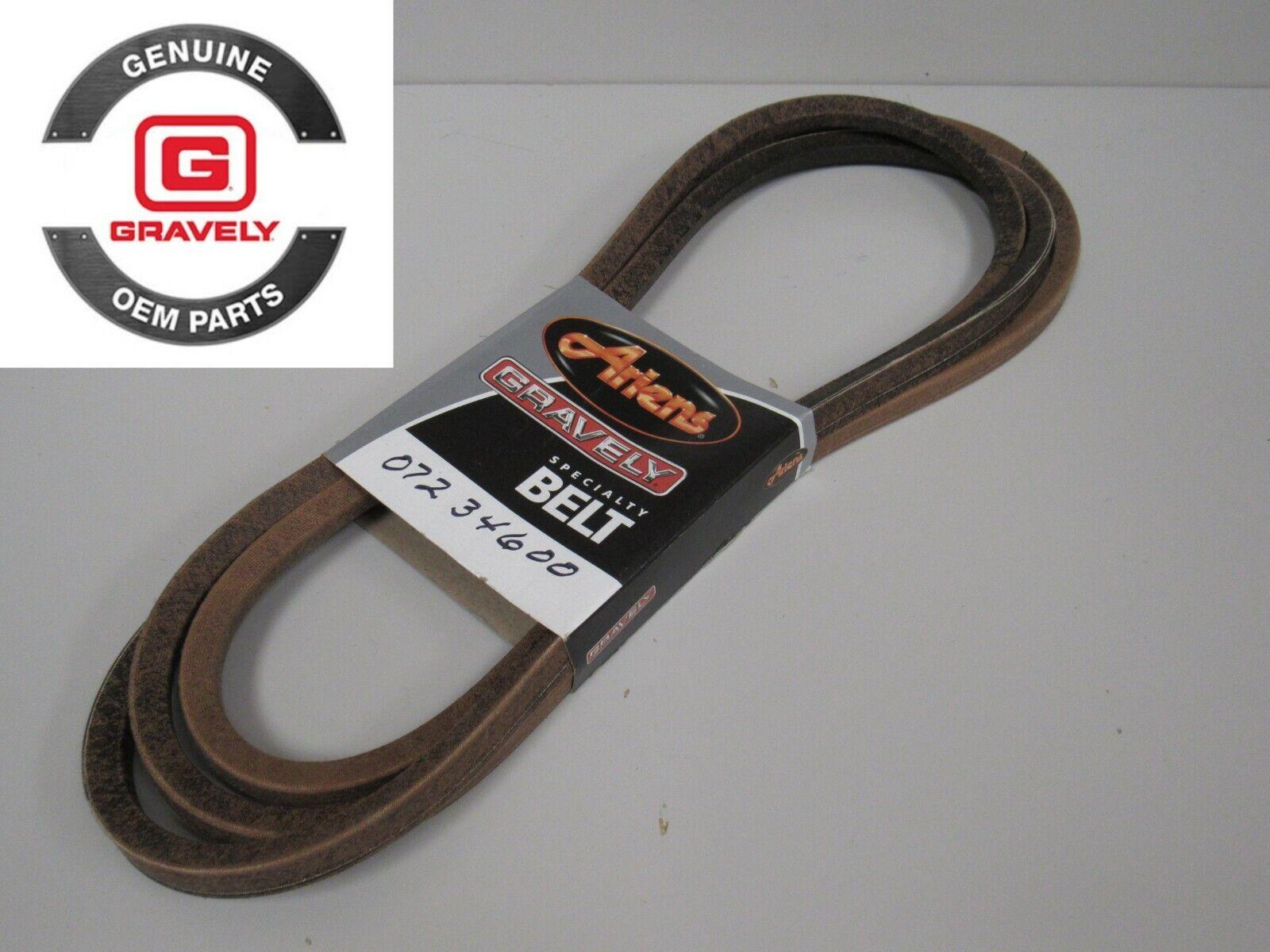 Genuine OEM cinturón envuelto V Ariens Gravely HB  07234600,  envío rápido