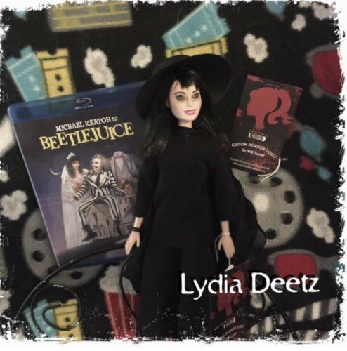 SALE Lydia Deetz CUSTOM HORROR DOLL Beetlejuice OOAK Version 1