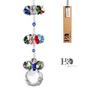Hanging-Suncatcher-Crystal-Ball-Prisms-Rainbow-Fengshui-Pendants-Window-Decor
