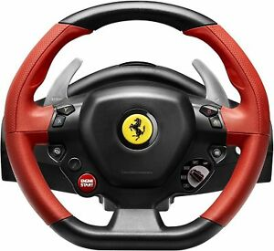 thrustmaster ferrari 458 spider (4460105) wheel and pedals set for