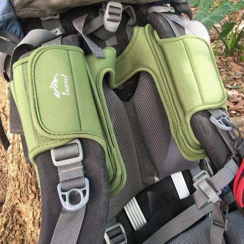 Random Color Outdoor Thicken Shoulder Strap Belt Backpack Shockproof Pads
