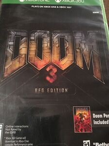 Details about NEW Doom 3 BFG Edition (Microsoft Xbox 360 & ONE, 2016)  SEALED with Poster