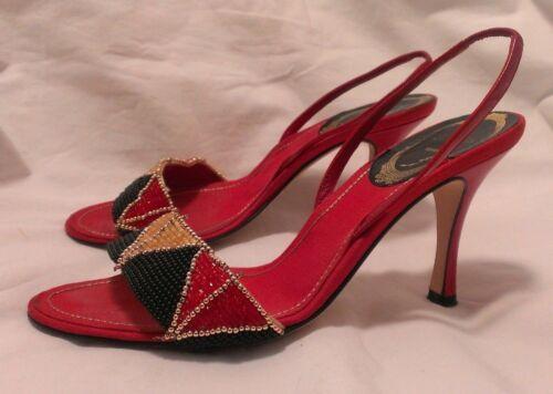 escarpins Euro embellies Rene Femmes Nous 35 5 5 5 100 authentiques Caovilla wngqTR