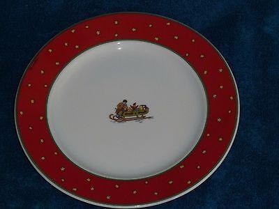 Hutschenreuther,NEU,Weihnachten,Beim Hufschmied,Kuchenteller 22 cm,Porzellan