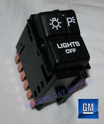 82-92 Firebird Trans Am Headlight Control Switch NEW GM  095