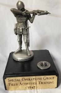 CIA SAD Special Operations Grp Field Activities Training Black Arts 1947 Statue