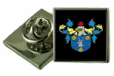Select Gifts Hilland England Heraldry Crest Sterling Silver Cufflinks Engraved Message Box