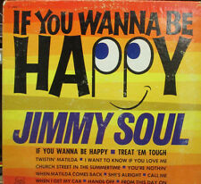 JIMMY SOUL  IF You Wann Be Happy CANADA SOUL R&B VINYL MUSIC ALBUM LP